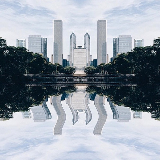 Surrealist Pictures of Cities Made with iPhone